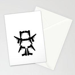 Pistol Robot Stationery Cards
