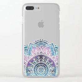 Galaxy Mandala | Boho Watercolor Clear iPhone Case