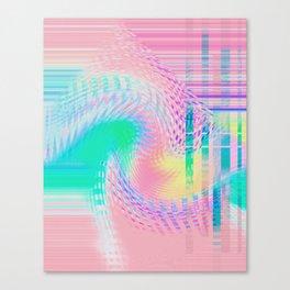 Distorted signal 03 Canvas Print