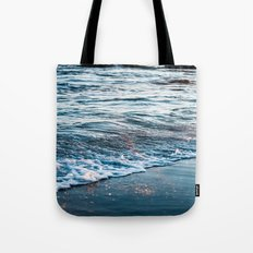 Beautiful ocean waves Tote Bag