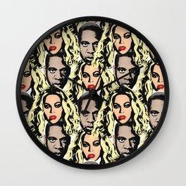 POWER COUPLE Wall Clock