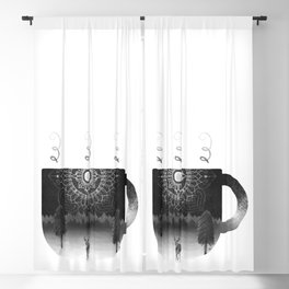 Midnight Coffee Blackout Curtain