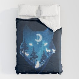 Moon Wolves Comforters