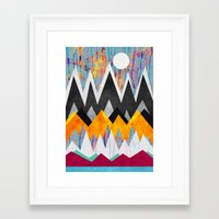wonderland Framed Art Prints featuring Wonderland by Elisabeth Fredriksson