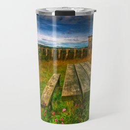 Alwen Reservoir Wales Travel Mug