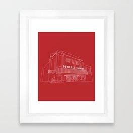 The Georgia Theatre Framed Art Print