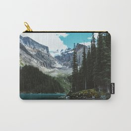 Canoeing in Moraine lake Carry-All Pouch