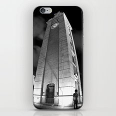 Where Are You? [Black & White] iPhone & iPod Skin