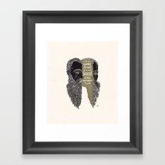 La Sagesse Framed Art Print