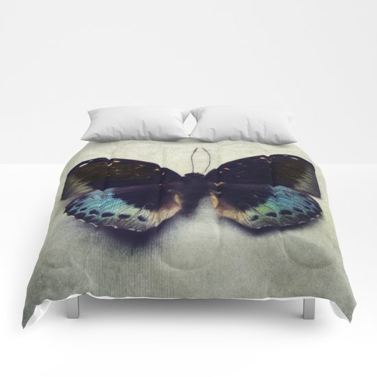 Vintage Butterfly 4 Comforters