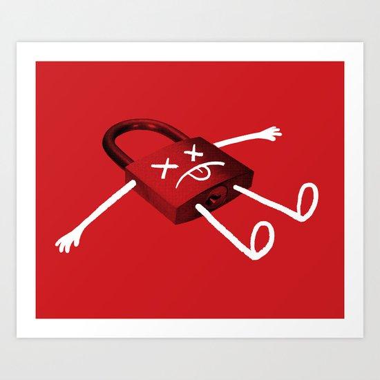 The Deadlock Art Print