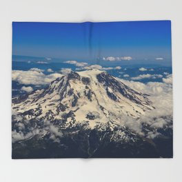 Pacific Northwest Aerial View - II Throw Blanket