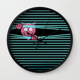 Secret Mission Wall Clock
