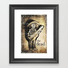 the dead Framed Art Print