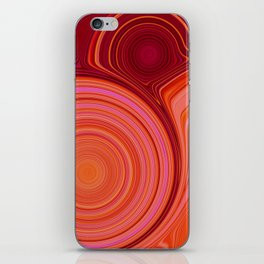 Abstract Creation by Robert S. Lee iPhone Skin