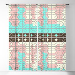 desert modernism Blackout Curtain
