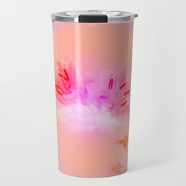 Lily in the Clouds Travel Mug