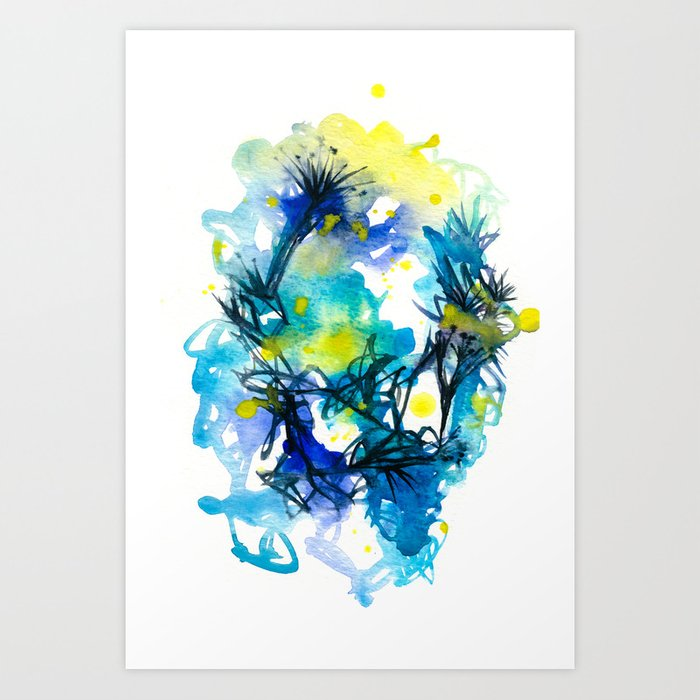 The Birth of Stars Art Print