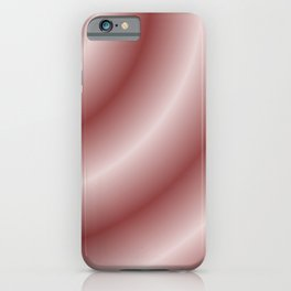 Circular Mystery in Pink iPhone Case