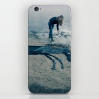 sea horse iPhone & iPod Skins featuring Sea horse by Kestere