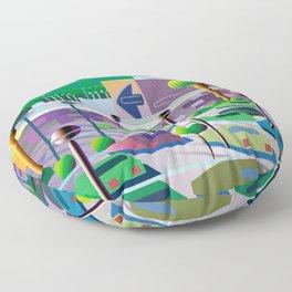 Silicon Vallee Floor Pillow