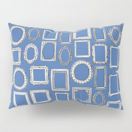 picture frames blue Pillow Sham
