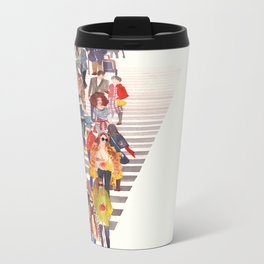 Zebra crossing Metal Travel Mug