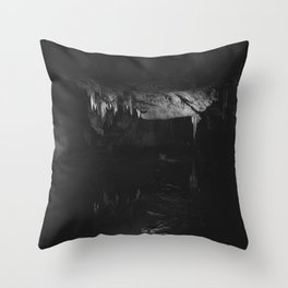 Prometheus Cave Throw Pillow