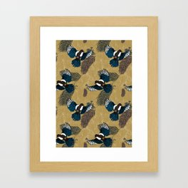 Flight of the Magpies Framed Art Print