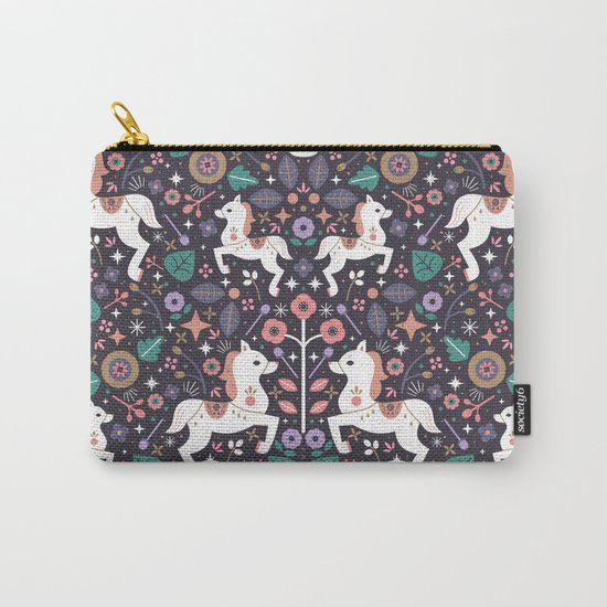 Prancing Ponies Carry-All Pouch