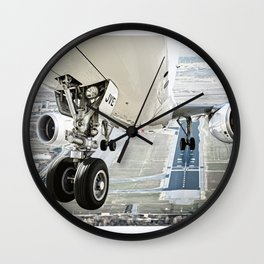 Positive rate.. gear up Wall Clock