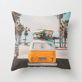 Coming Home to California Throw Pillow