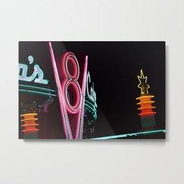 Carsland Diner Metal Print