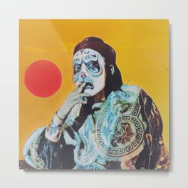 Tigerface Metal Print