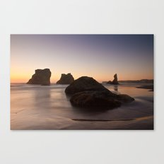 Bandon Sunset 2 Canvas Print