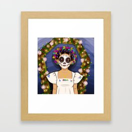Day of the Dead Girl  Framed Art Print