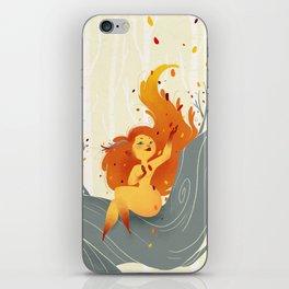 Fall Sprite iPhone Skin
