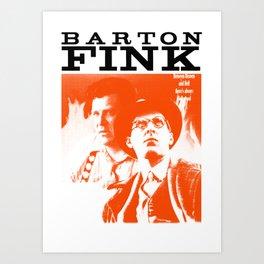 BARTON FINK Art Print