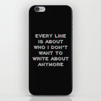 brand new iPhone & iPod Skins featuring Brand New by larlener