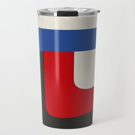 TAKE ME OUT (abstract geometric) Travel Mug