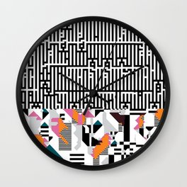"""epicgrafia"" signed Wall Clock"