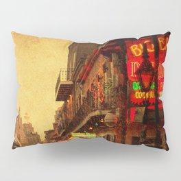 Bourbon Street Grunge Pillow Sham