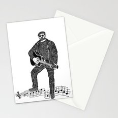 Rock 'N' Roll Stationery Cards