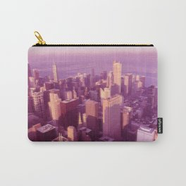View of Chicago Carry-All Pouch