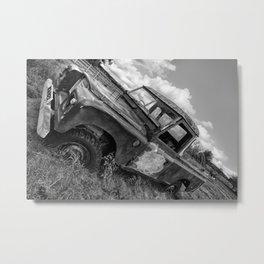 4 Wheeled Drive Metal Print