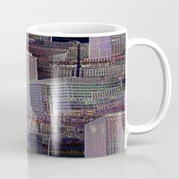 office Mugs featuring office Dayze by David  Gough