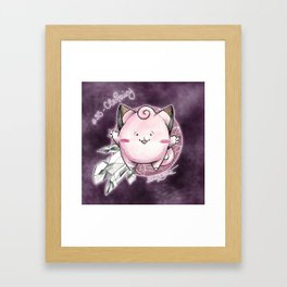 35 - Clefairy Framed Art Print
