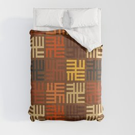 African pattern Comforters