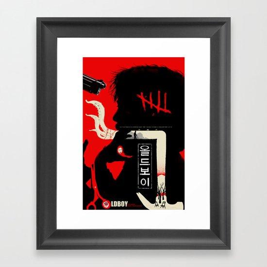 Oldboy Framed Art Print