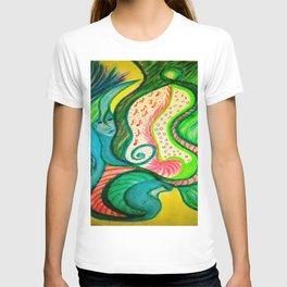 Pastel vielle de lumière T-shirt